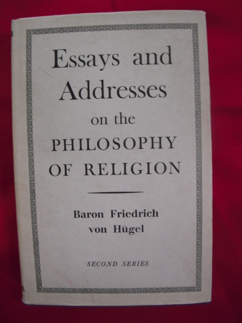 Image for Essays and Addresses on the Philosophy of Religion  (Second Series)
