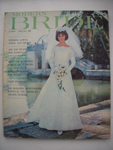 Image for Modern Bride Magazine (Summer April/May 1964)