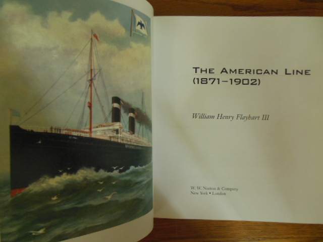 Image for The American Line : Pioneers of Ocean Travel