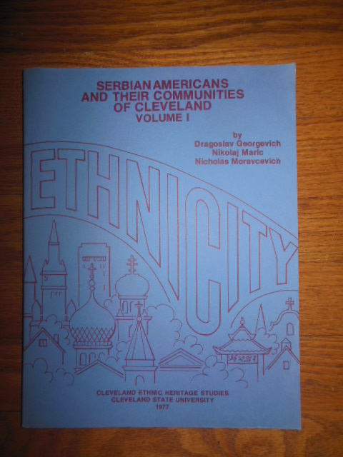 Image for Serbian Americans and Their Communities of Cleveland, Volume I