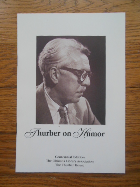Image for Thurber on Humor