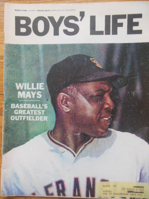 Image for Boys' Life Magazine (Willie Mays Cover -- March, 1966)