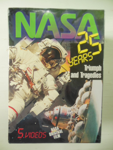 Image for NASA 25 Years (Five Video set)