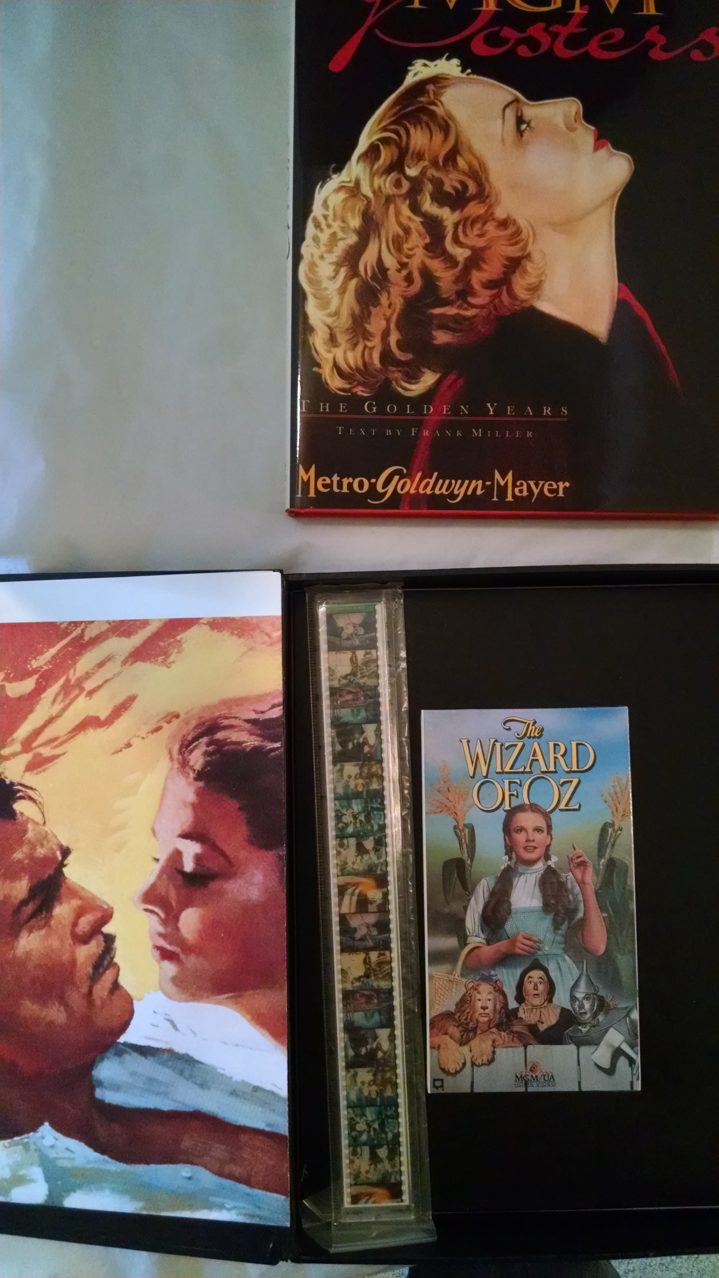 Image for The Hollywood Collector's Kit;  MGM Posters; The Golden Years (contains GWTW Movie Poster and Wizard of Oz video)