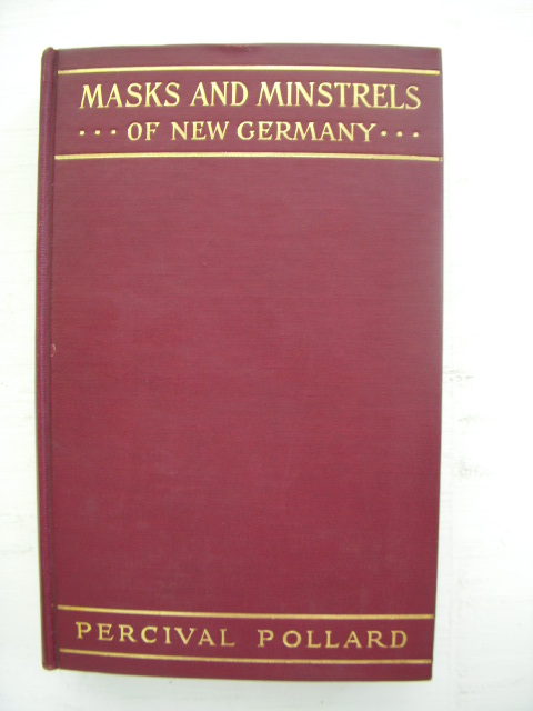 Image for Masks and Minstrels of New Germany