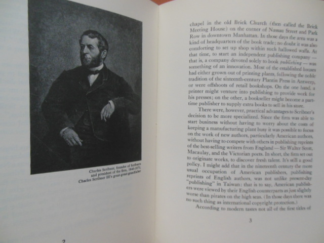 Image for A History of Charles Scribner's Sons