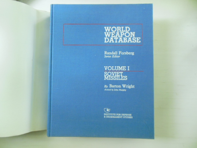 Image for World Weapon Database Volume I Soviet Missiles