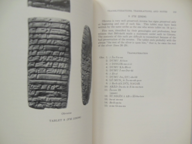 Image for Old Akkadian Inscriptions in Chicago Natural History Museum; Texts of Legal and Business Interest