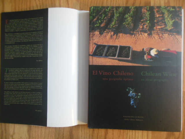 Image for El Vino Chileno: Una Geografia Optima = Chilean wine : An Ideal Geography (Spanish & English)