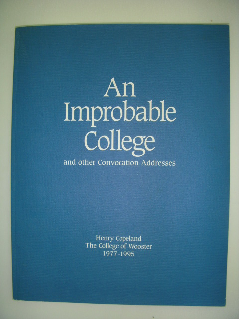 Image for An Improbable College and Other Convocation Addresses