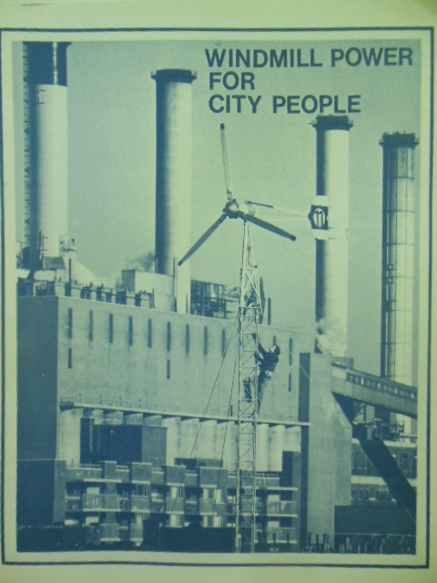 Image for Windmill Power for City People; A Documentation of the First Urban Wind Energy System