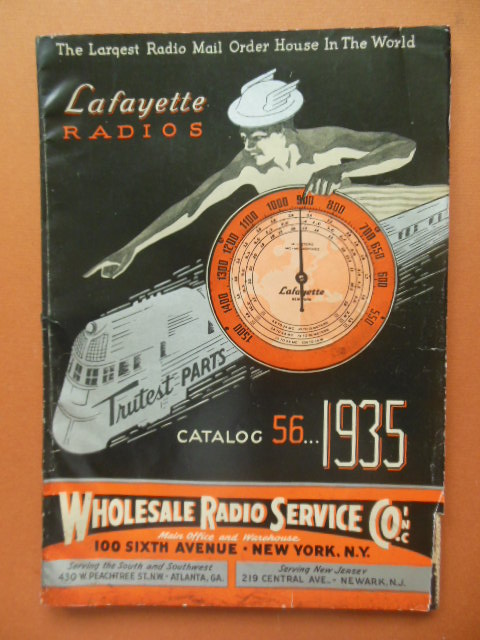 Image for Lafayette Radio Catalog #56 1935