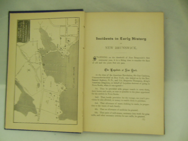 Image for Foot-Prints; Or, Incidents in Early History of New Brunswick  1783-1883