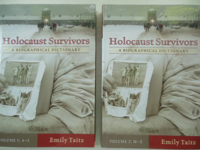 Image for Holocaust Survivors A Biographical Dictionary (Two Volume set)