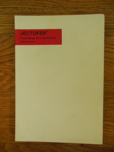Image for Jectofer; Proceedings of a Conference