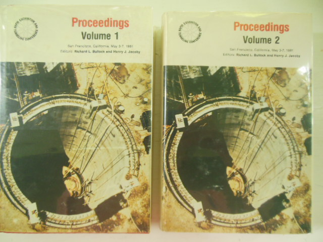 Image for Rapid Excavation and Tunneling Conference Proceedings, 1981  (TWO volumes)