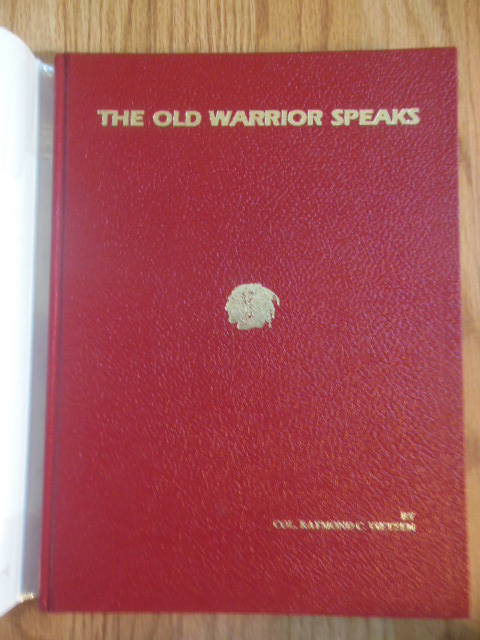 Image for The Old Warrior Speaks; Sixty Years in Archaeology