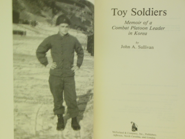 Image for Toy Soldiers: Memoir of a Combat Platoon Leader in Korea