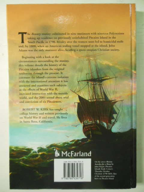 Image for Pitcairn Island, The Bounty Mutineers and Their Descendants