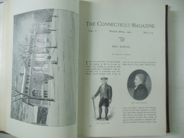 Image for The Connecticut Magazine An Illustrated Bi-Monthly January to December 1900  Vol. VI