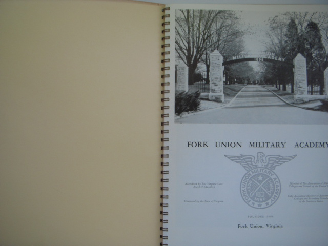 Image for Fork Union Military Acdemy Catalog