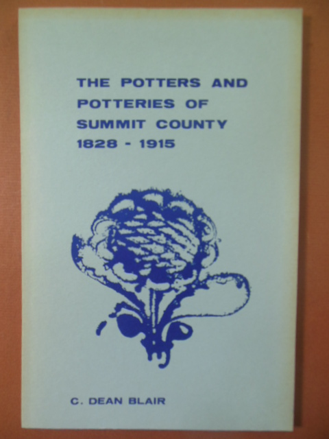 Image for The Potters and Potteries of Summit County 1828-1915