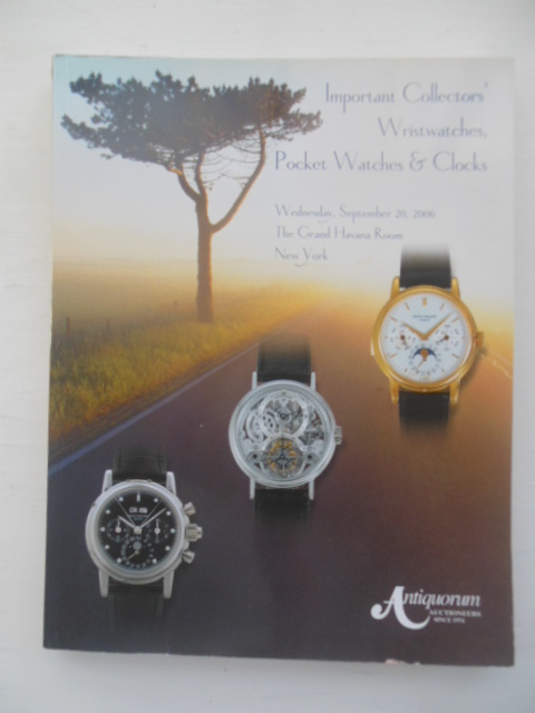 Image for Important Collectors' Wristwatches, Pocket Watches & Clocks