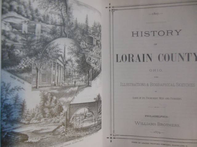 Image for History of Lorain County, Ohio 1879