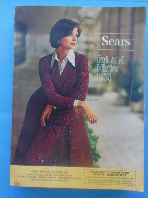 Image for Sears Catalog  Fall and Winter, 1974