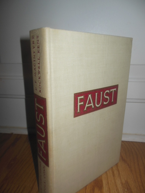 Faust (1941 Limited Edition, SIGNED By Rockwell Kent)