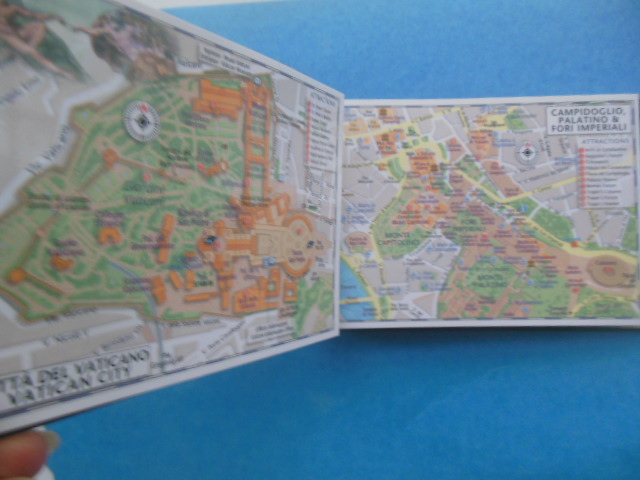 Image for Inside Out Rome:Pop-up Map,  64 Page City Guide, Rome; Compass and Pen