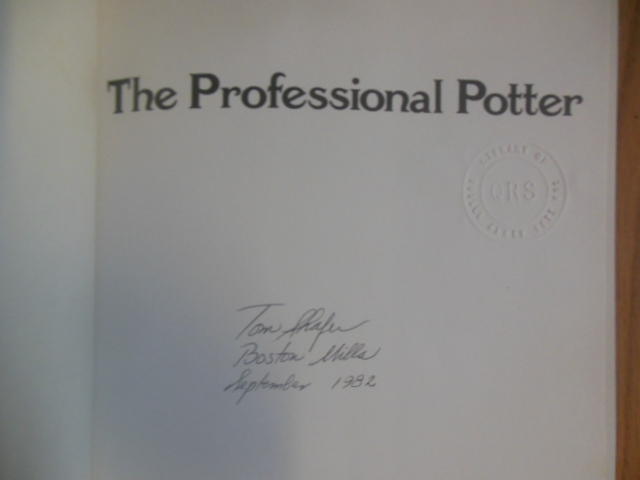 Image for The Professional Potter SIGNED First Ed.)