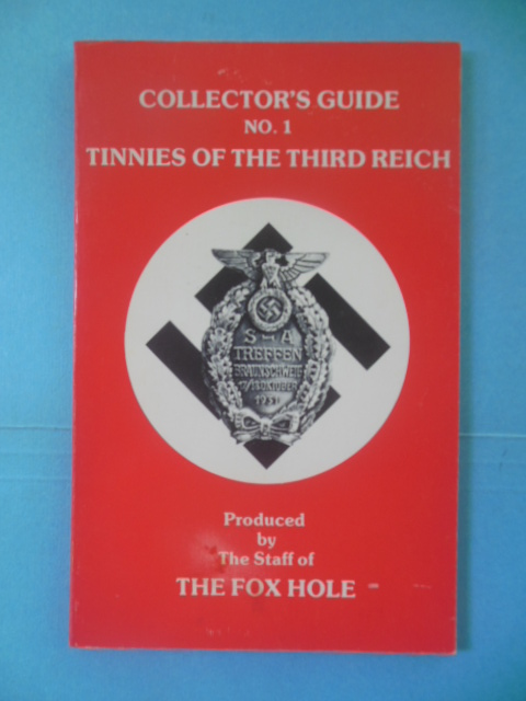 Image for Collector's Guide No 1 Tinnies of the Third Reich (1978 SIGNED)