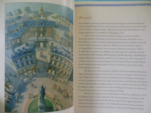Image for Views of Paris and Its Festivals: Works of Banque de France and Musee Carnavalet