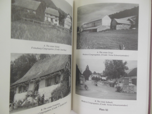 Image for Amish Mennonites in Germany: Their Congregations, the Estates Where They Lived, Their Families