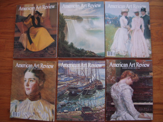 Image for American Art Review Magazine 2003 (6 Issues, Full Run)