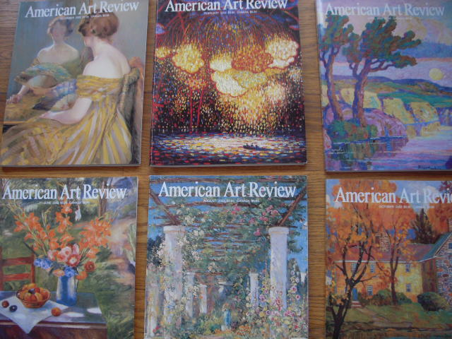 Image for American Art Review Magazine 2002 (6 Issues, Full Run)