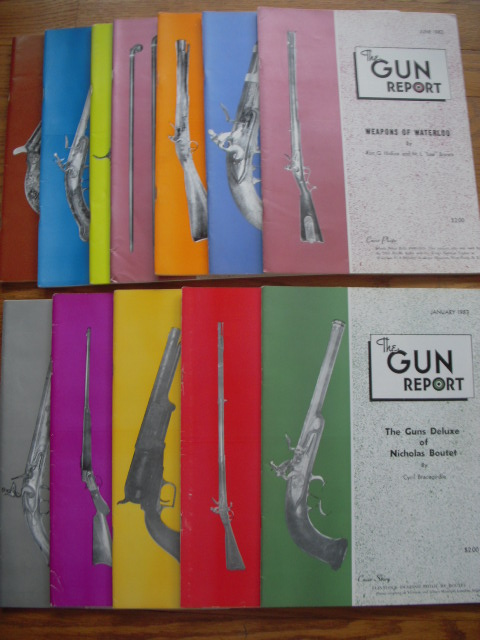Image for The Gun Report Magazine 1983 12 Issues Complete Run