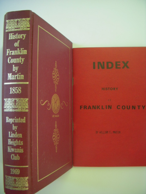 Image for History of Franklin County; A Collection of Reminiscences  of the Early Settlements  of the County  (Index laid-in)