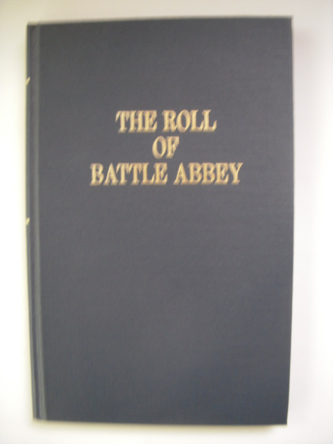 Image for The Roll of Battle Abbey (annotated)