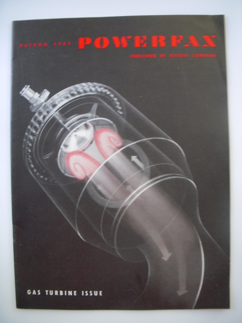 Image for Powerfax Magazine Gas Turbine Issue Autumn, 1945
