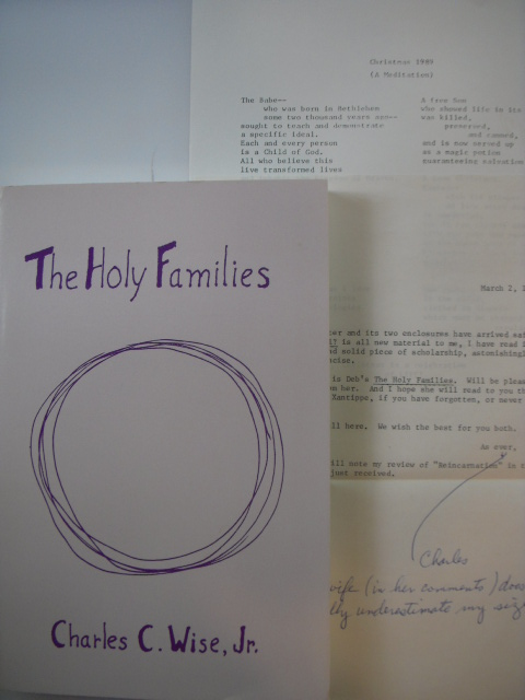 Image for The Holy Families (ephemera laid-in)