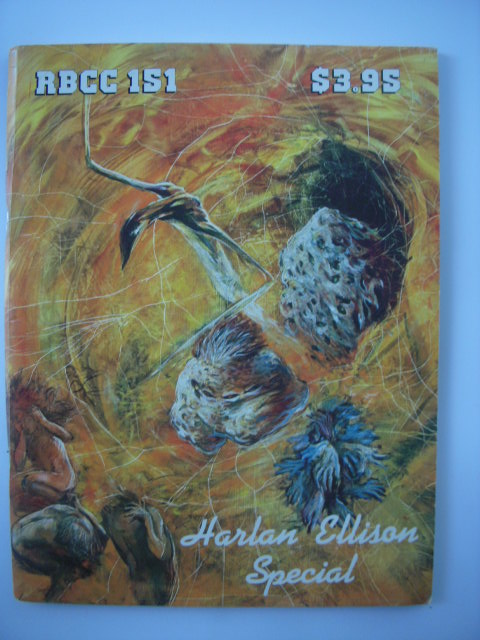 Image for The Rocket's Blast Comic Collector #151 The Harlan Ellison Issue