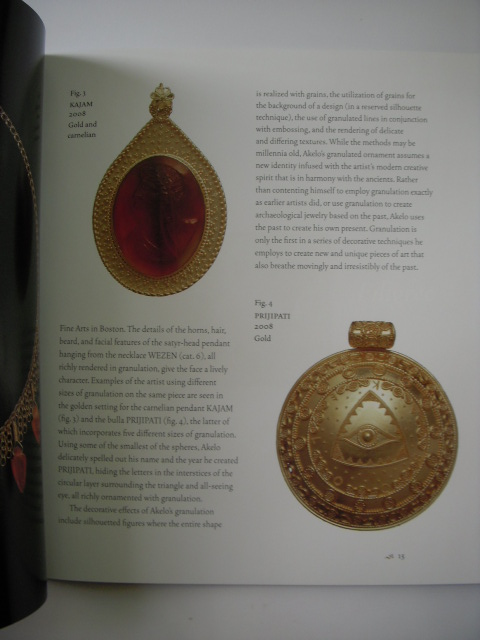 Image for The Voyage of a Contemporary  Italian Goldsmith in the Clasical World; Golden Treasures By Akelo