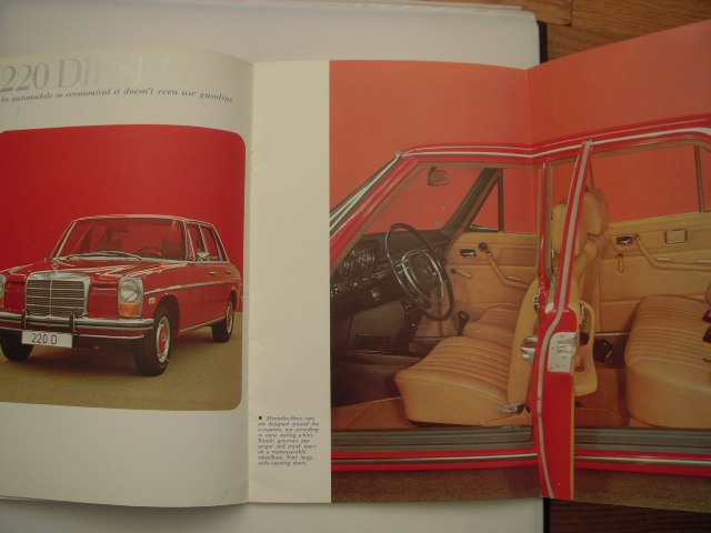Image for 1973 Mercedes-Benz Sales Catalog Models 220D, 220, 280, 280C