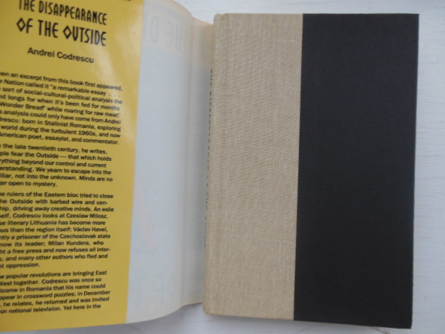 Image for The Disappearance of the Outside: A Manifesto for Escape