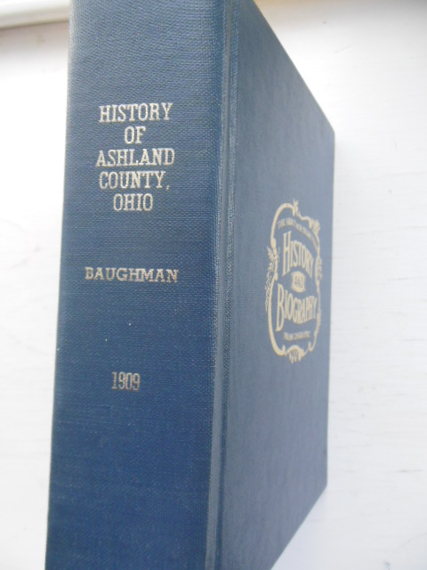 Image for History of Ashland County, Ohio
