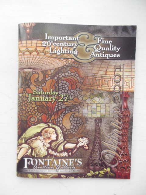 Image for Important 20th Century Lighting & Fine Quality Antiques  Fontaine's Auction Gallery Catalog January 27, 2001