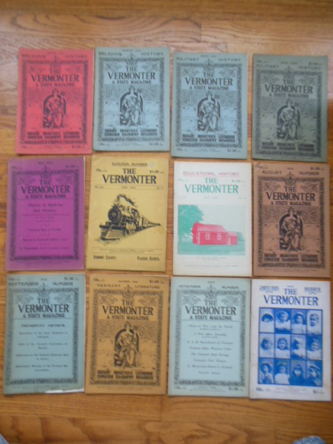 Image for The Vermonter Magazine 1903 (Twelve Issues)