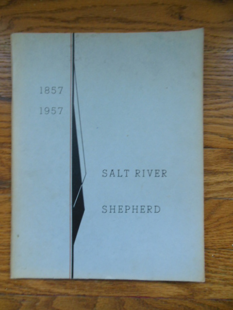 Image for Salt River Shepherd; Salt River Centennial 1857-1957